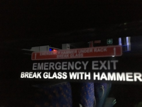 Chicken & Egg on the Megabus. Break Glass with Hammer, but to get the hammer, you need to break the glass.